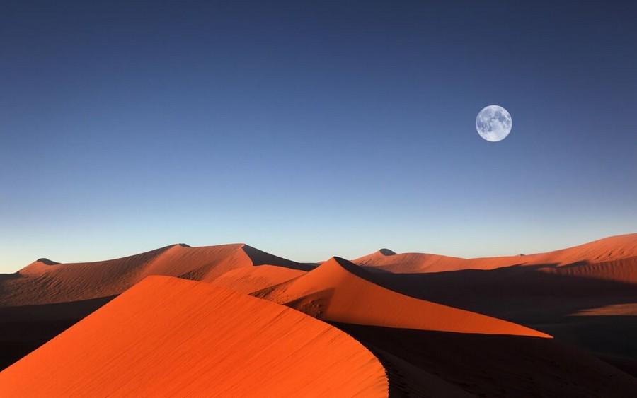 Sossusvlei, nel Deserto del Namib