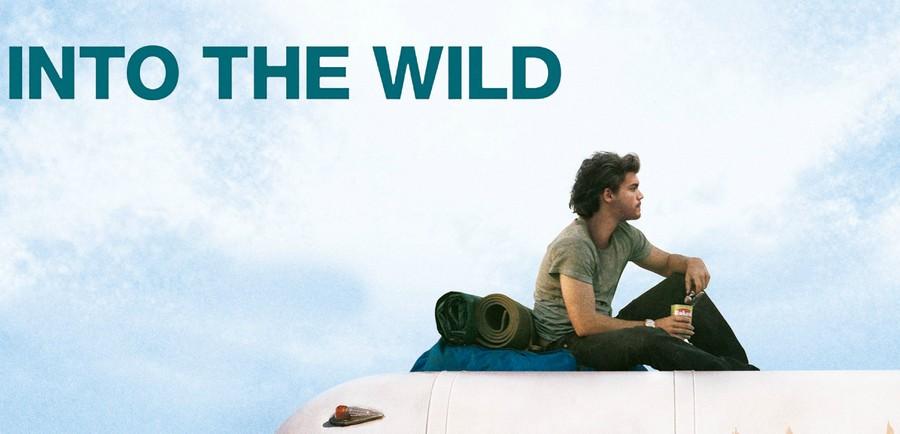 """Particolare della locandina """"Into the wild"""""""