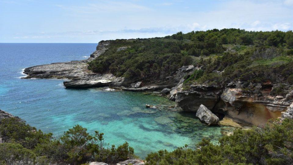 Il mare dell'isola di Pianosa