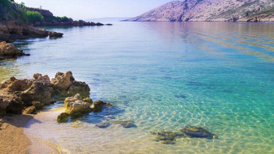 Isola di Rab: fondale basso