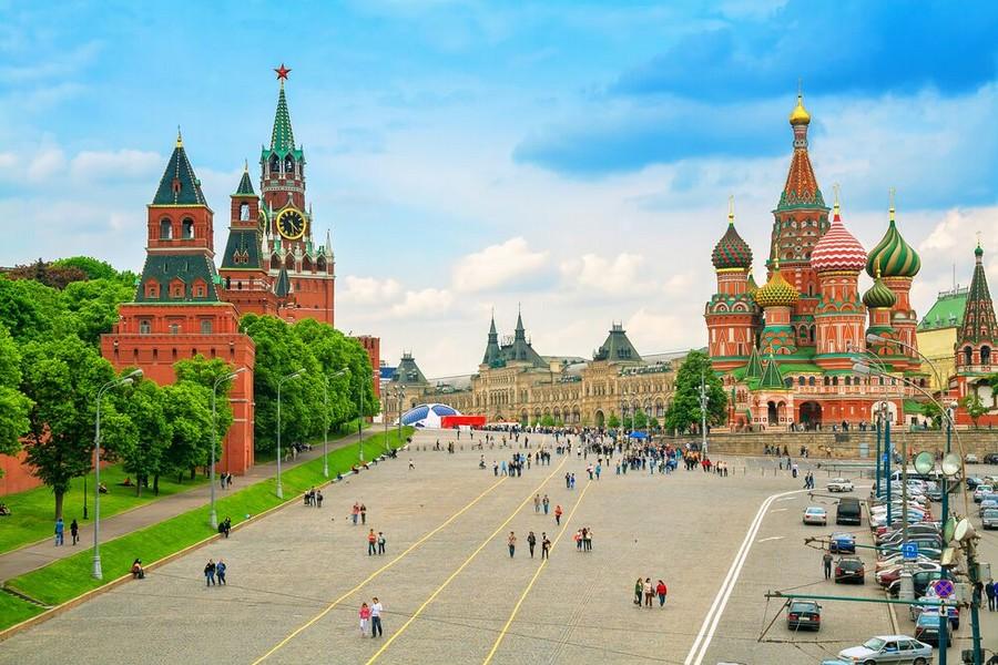 Mosca: Piazza Rossa, Cremlino e Cattedrale di San Basilio