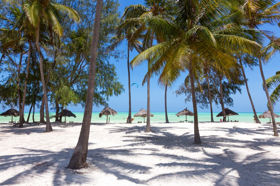 La spiaggia di Paje