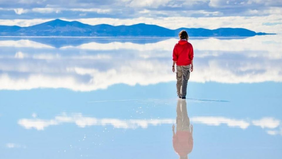 Lago Salar de Uyuni, Bolivia