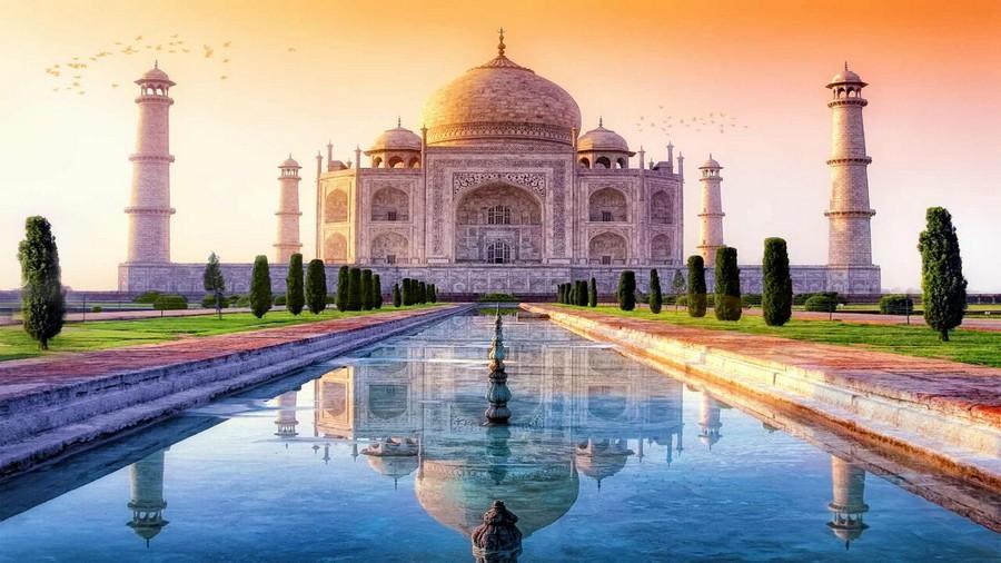 Taj Mahal, uno dei simboli dell'India