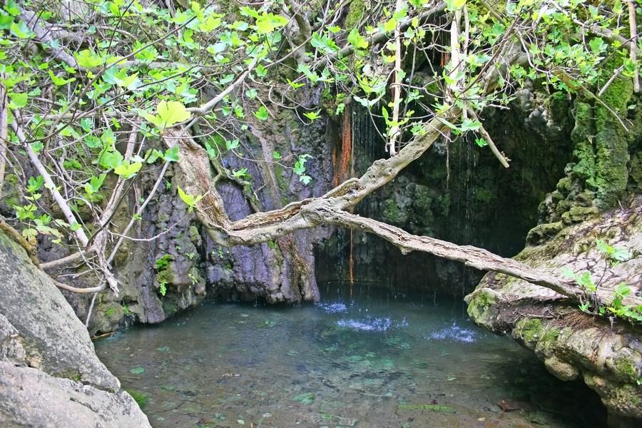 Bagni di Afridite a Cipro: la piscina naturale nella grotta