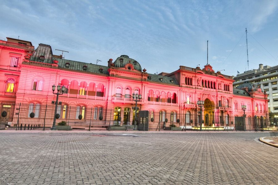 Casa Rosada a Buenos Aires