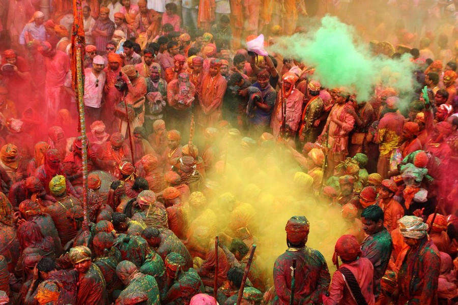 Holi Fest in India