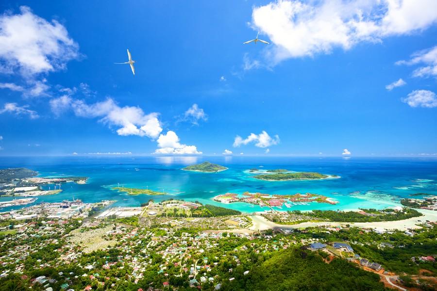 Isola di Mahé, panorama