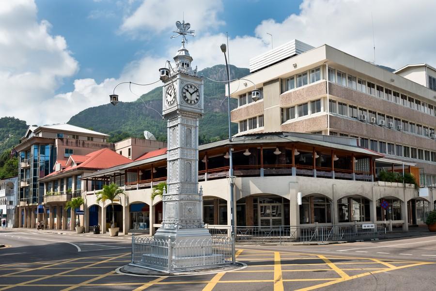 Torre dell'Orologio a Victoria, Seychelles