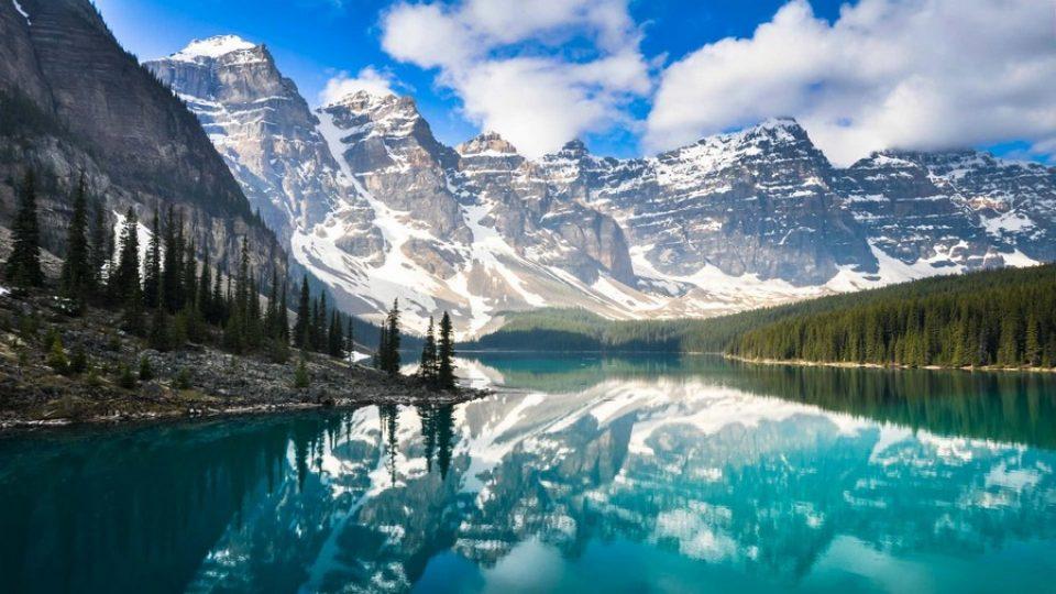 Canada, laghi e montagne