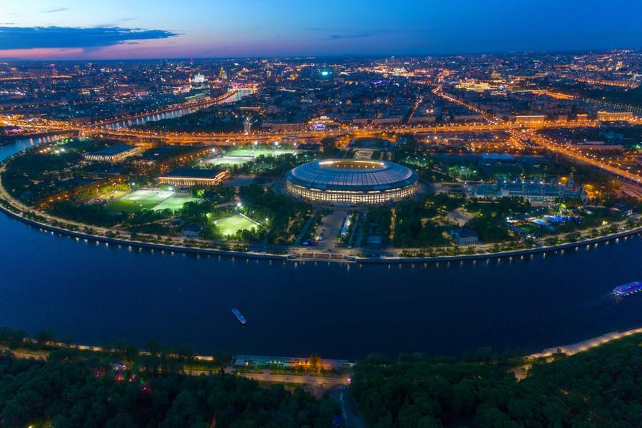 Mosca, stadio Luzniki