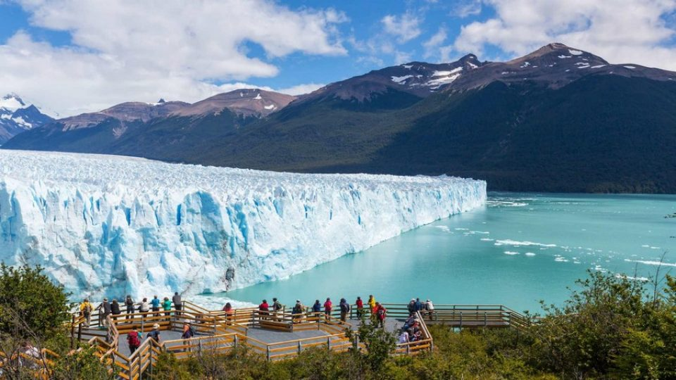 Perito Moreno, in Patagonia argentina