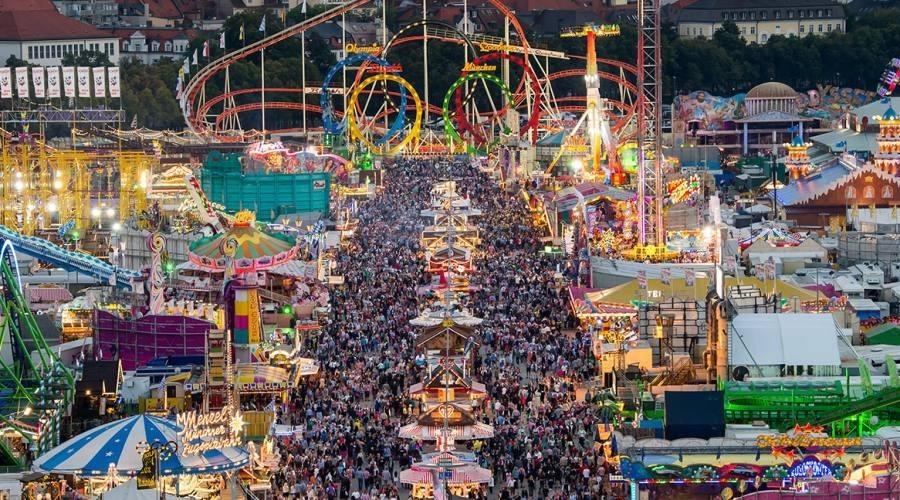 Luna park dell'Oktoberfest