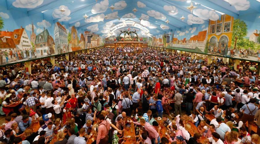 Uno degli stand più famosi dell'Oktoberfest