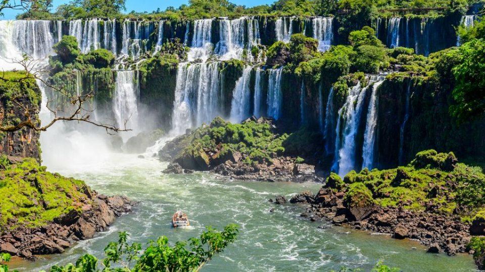 Cascate di Iguazù sul versante argentino