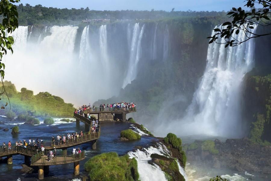 Cascate di Iguazù, versante brasiliano