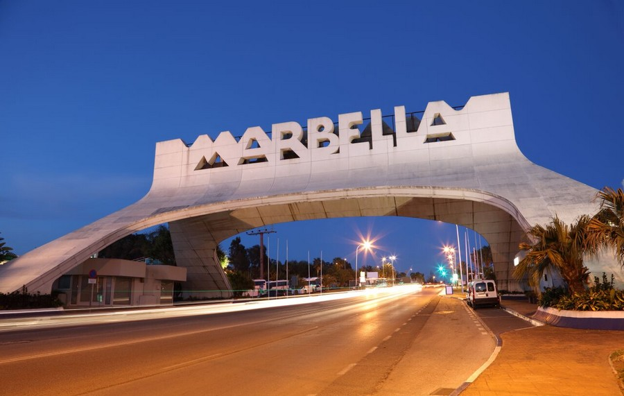 Marbella, l'arco