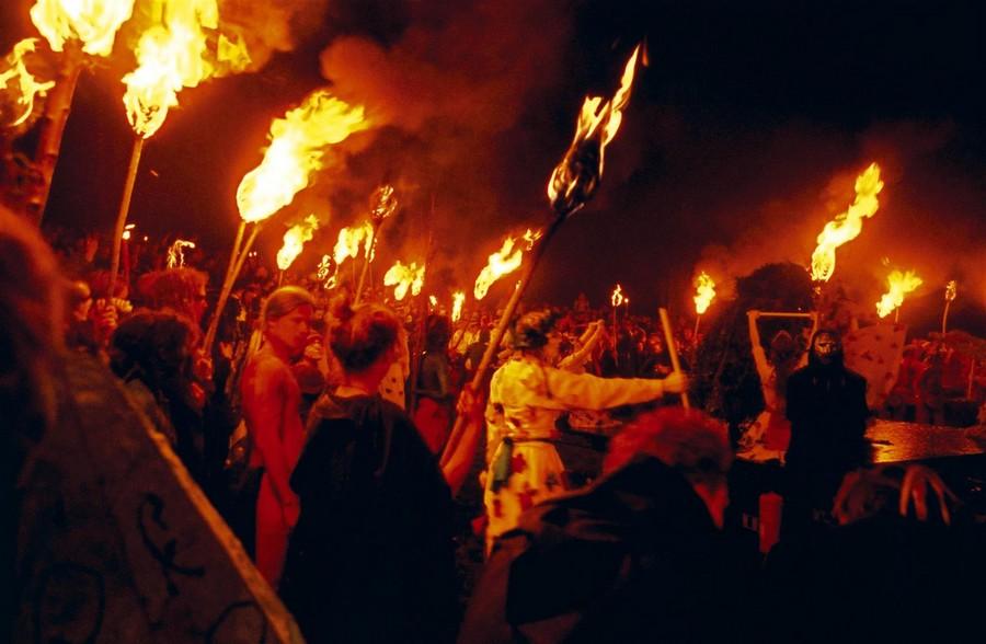 Sfilata Beltane: Halloween a Edimburgo
