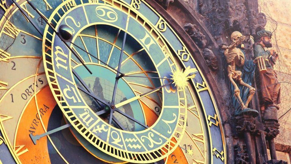 Dettaglio dell'Orologio Astronomico a Praga