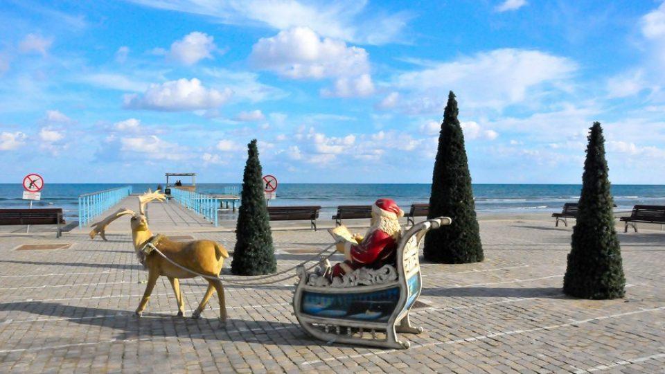 Natale sul lungomare di Larnaka