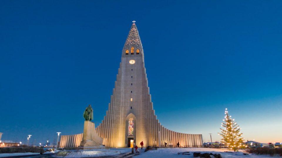 Reykjavik in inverno