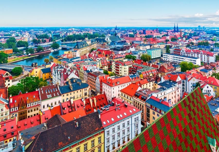 Breslavia, panorama
