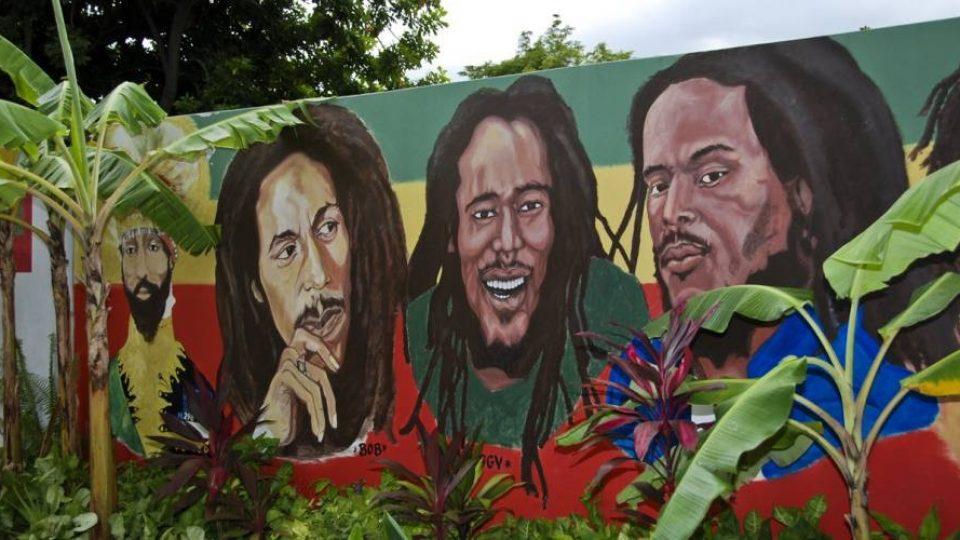Murales reggae, Jamaica