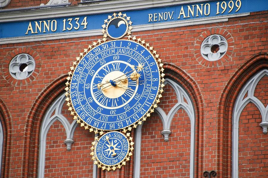 Orologio astronomico di Riga