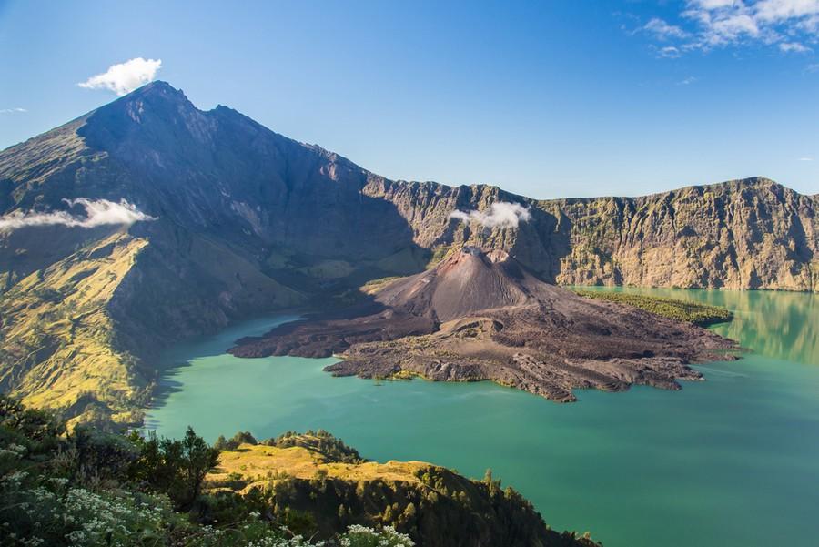 Monte Rinjani, Lombok (Indonesia)