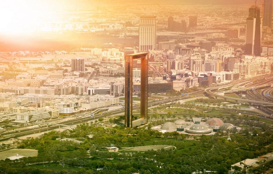 Dubai The Frame