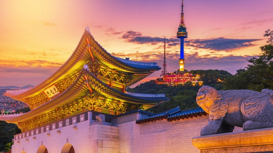 Gyeongbokgung e Seoul Tower