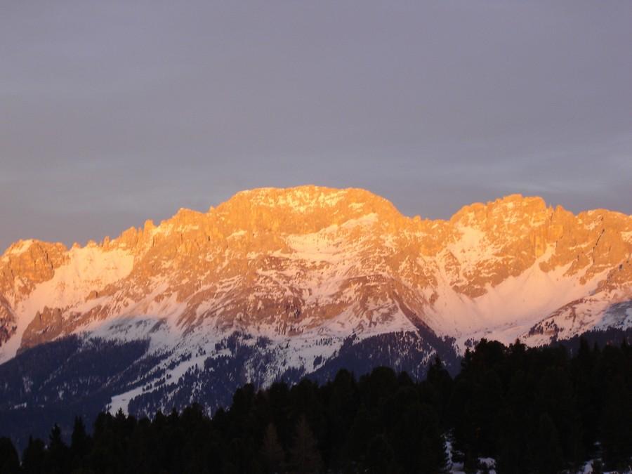 Enrosadira in Sudtirol