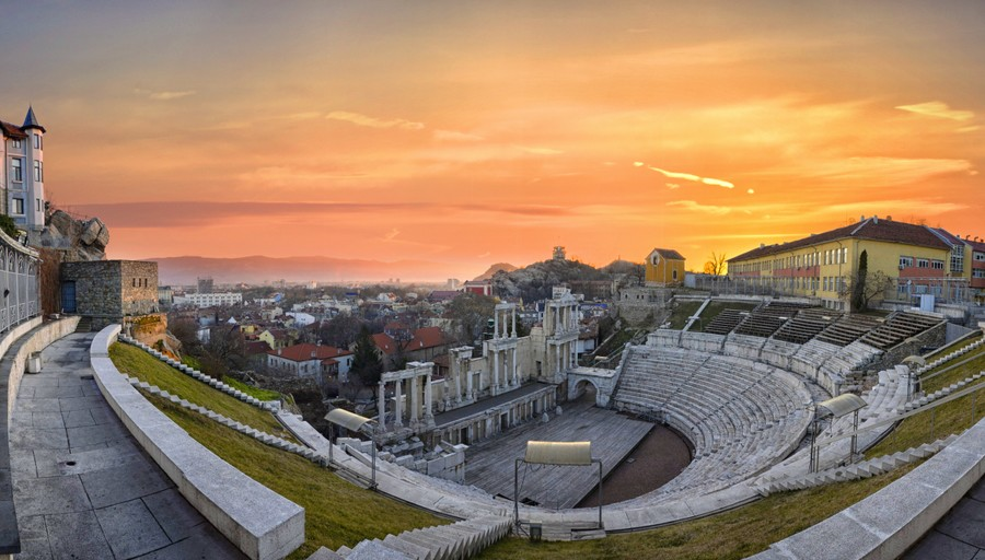 Teatro Romano di Plovdiv, Bulgaria