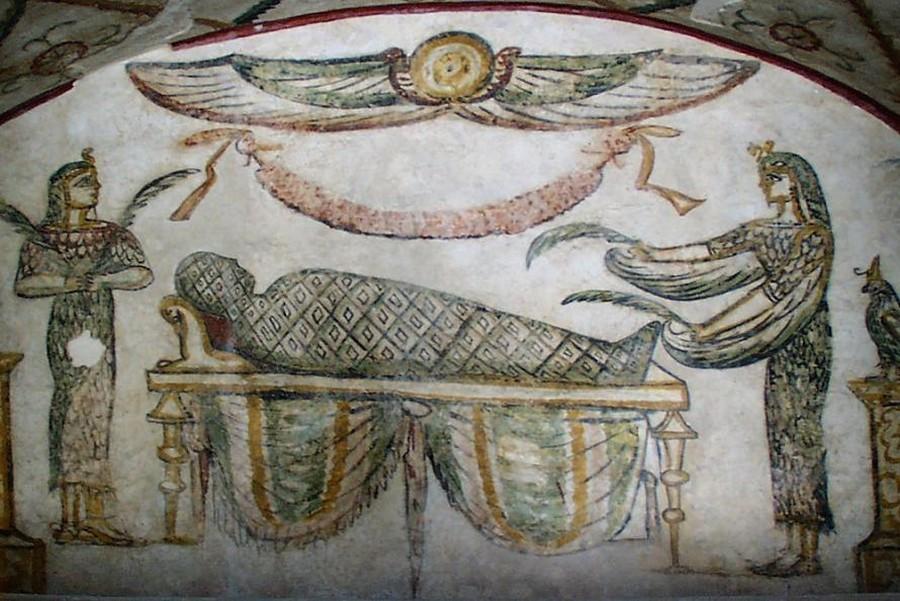 Tomba di Tigran, particolare