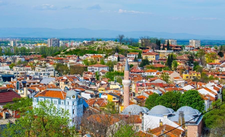 panorama di Plovdiv