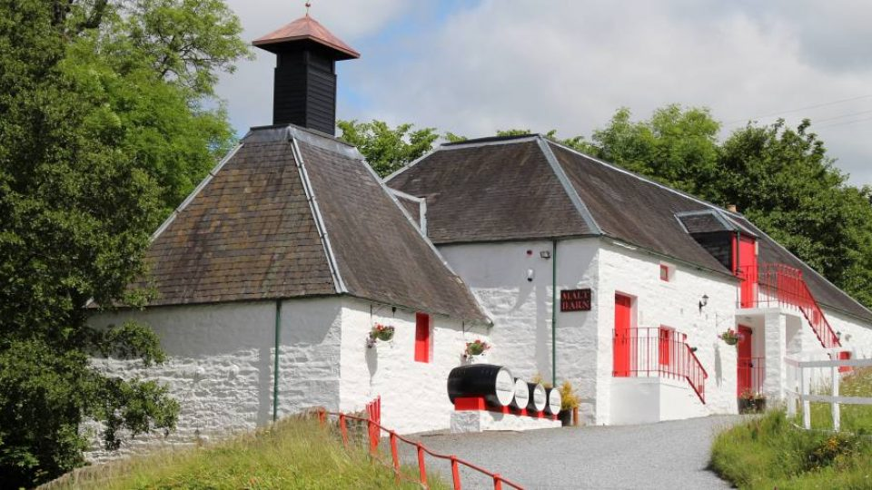 Distilleria Edradour in Scozia