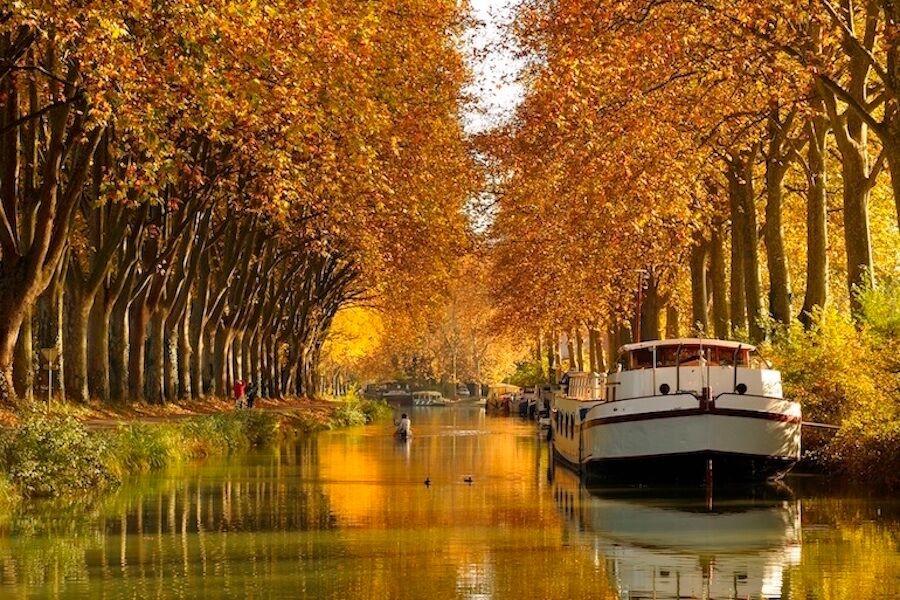 Vacanza in houseboat sul Canal de Midi (Canada)