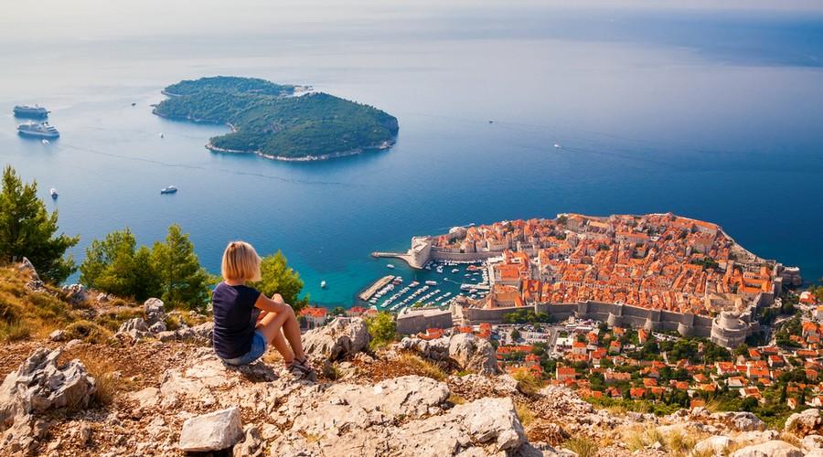 L'isola di Lokrum e Dubrovnik