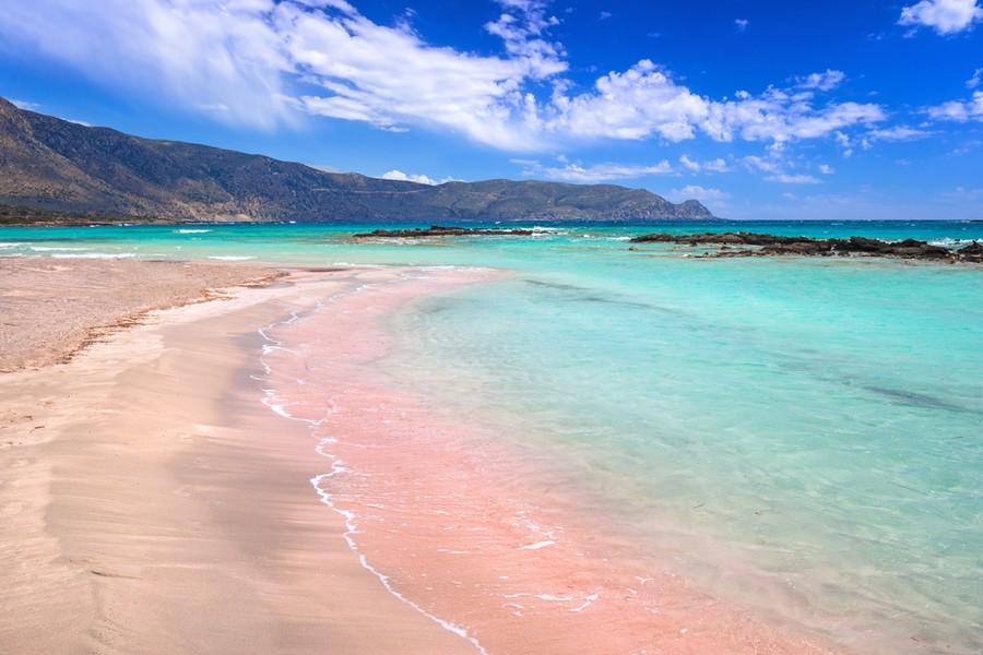 Spiaggia di Elafonissi a Creta (Grecia)
