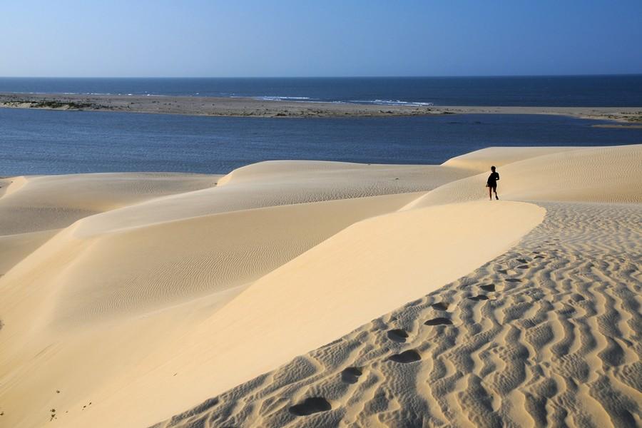 Le dune a Jericoacoara beach