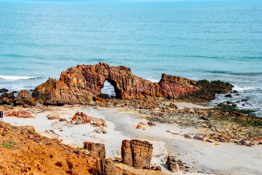 Pedra Furada, nei pressi di Jericoacoara beach
