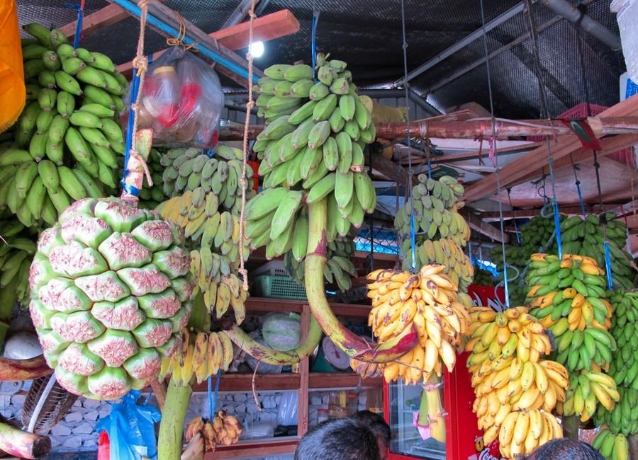 Mercato della frutta di Malé