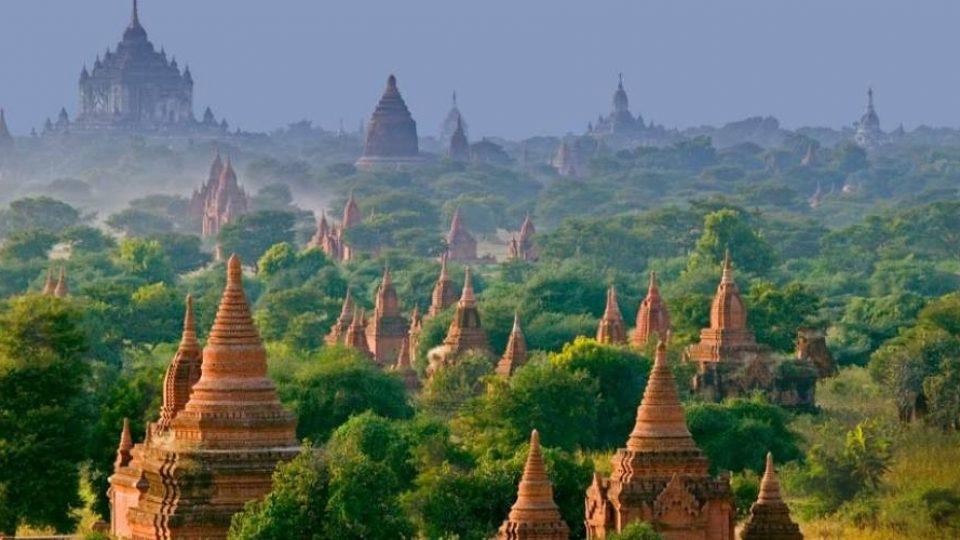 Paesaggio birmano