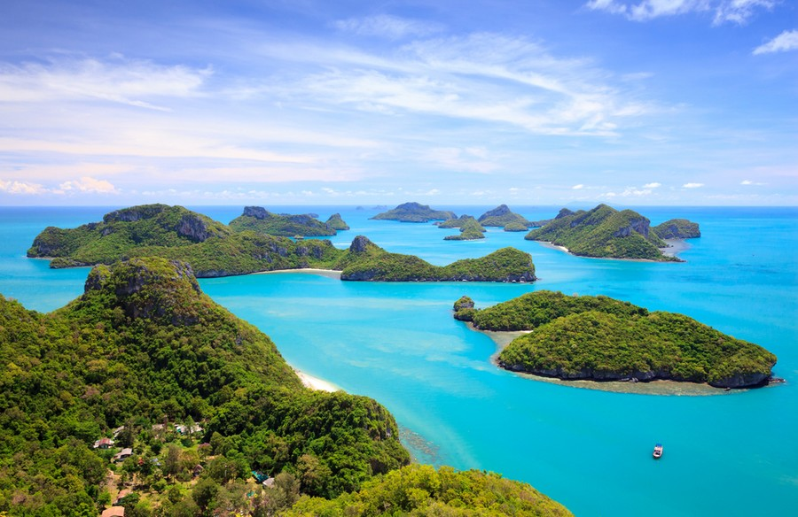 Isole del golfo di Thailandia