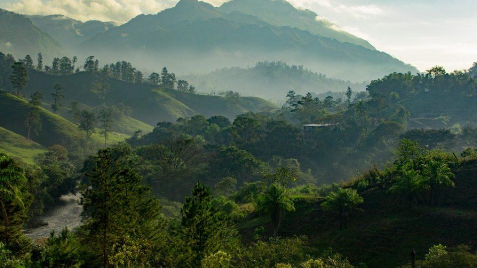 Guatemala: alba sulla jungla