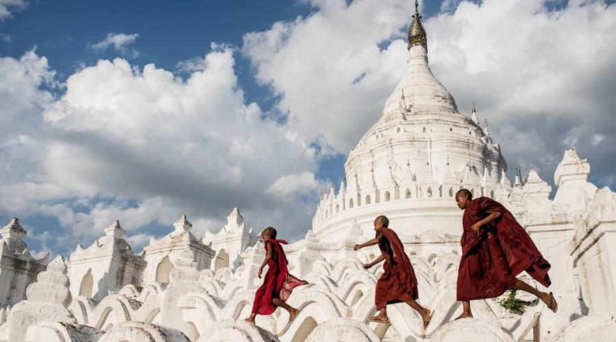 Un tempio della Birmania