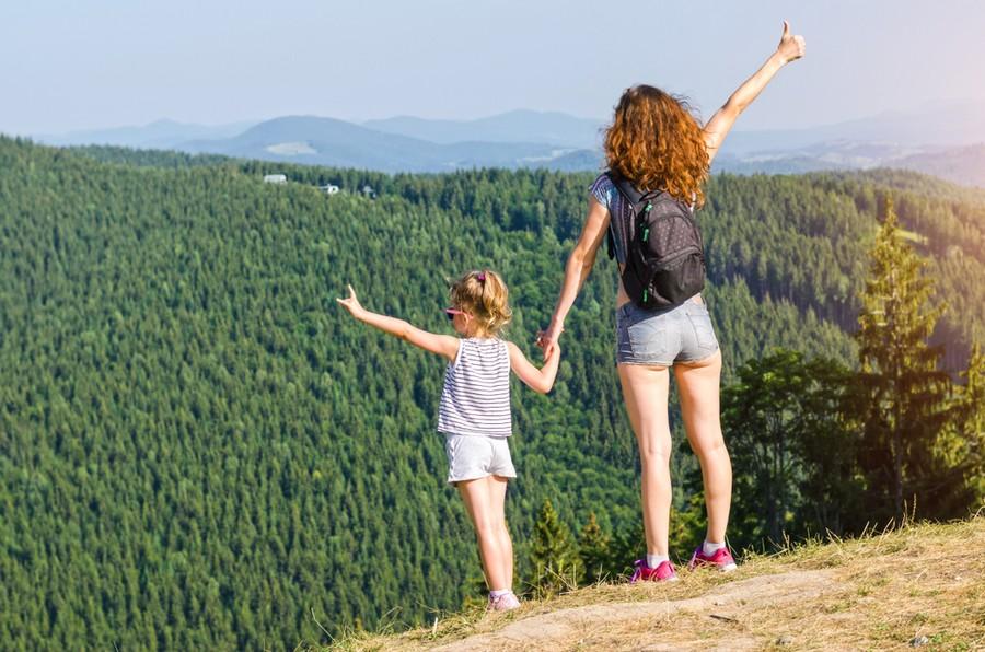 Consigli per vacanze in montagna con i bambini