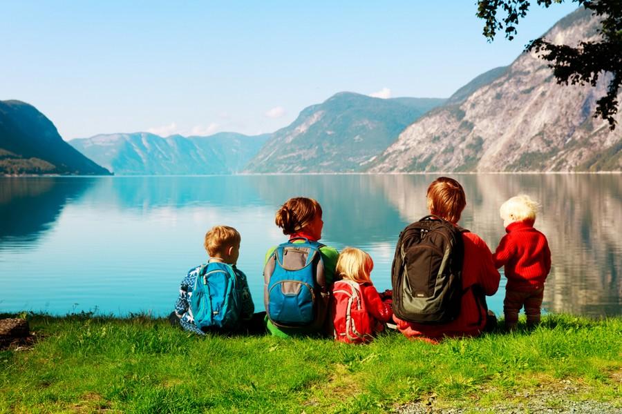 Vacanze in montagna in famiglia