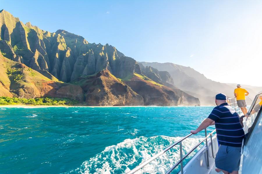 Kauai, isola giardino delle Hawaai: giro in barca