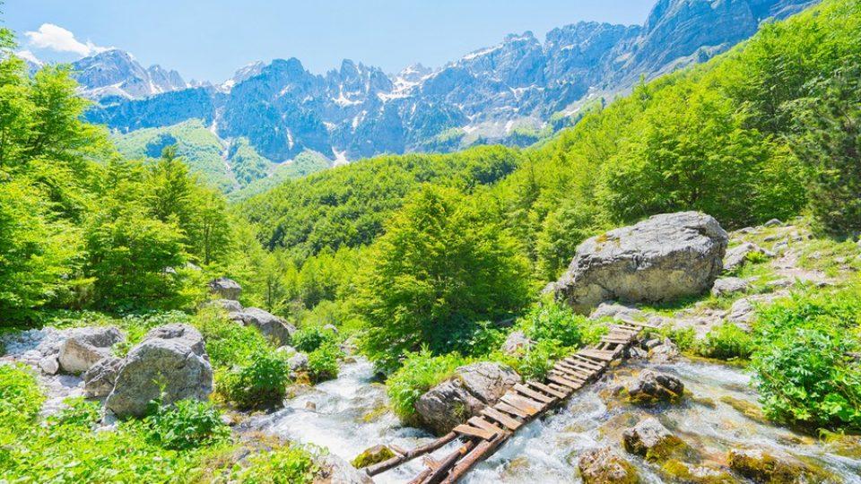 Valle di Valbona e Alpi albanesi